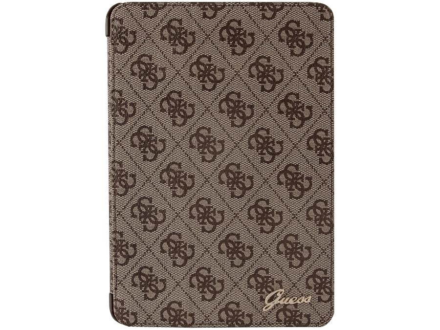 Чехол-книжка Guess для Apple iPad mini 2, ткань, коричневый