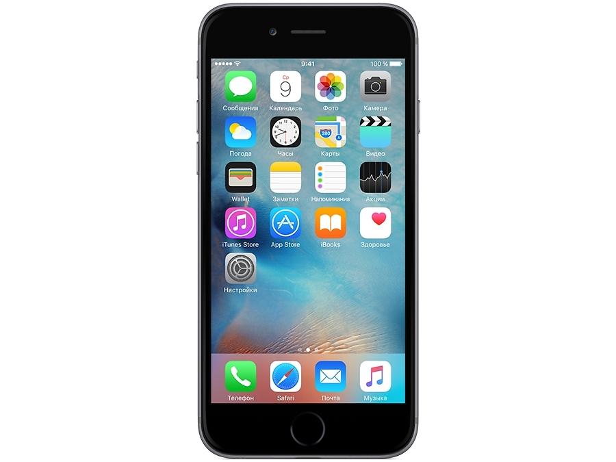 Смартфон Apple iPhone 6 16GB Space Gray восстановленный